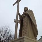 Память сщмч. Алексия Смирнова в 2013- м, на площади памятника святому