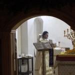 Божественная литургия ночью 07-01-14