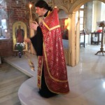 Вечернее богослужение на память сщмч. Алексия Смирнова 27-02-14