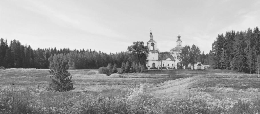 Уничтоженный в годы советской власти каменный храм в честь Рождества Богородицы
