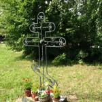 Поклонный крест на месте бывшей Богородицерождественской церкви, 13-07-2013