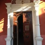 Высоко - Петровский монастырь, вход в Сергиевский храм (кон. XVII в.)