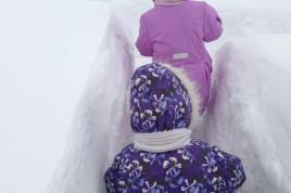 Зима в 2013 - м выдалась очень снежной...